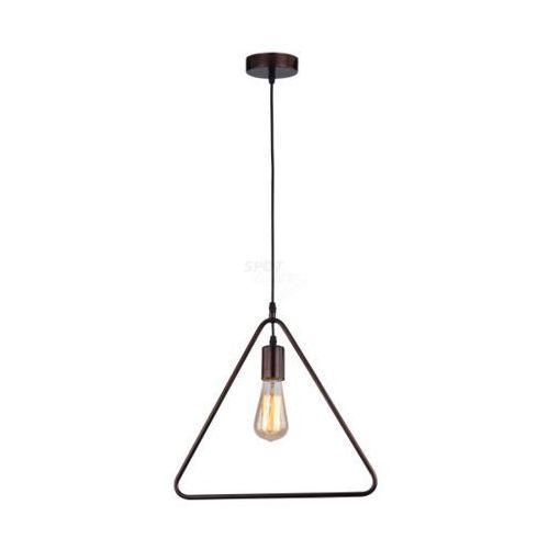 SPOT-LIGHT CARSTEN Lampa wisząca 1xE27 60W, czarny, metal, 320x370x900 mm 1651104, 1651104