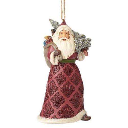 Mikołaj victorian santa (hanging ornament) 4058757 figurka ozdoba świąteczna marki Jim shore
