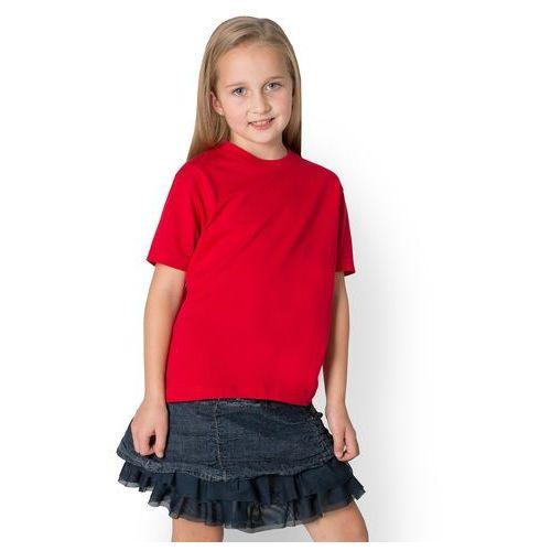 Koszulka dziecięca (bez nadruku, gładka) - czerwona, 13524