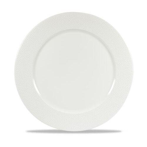 Talerz porcelanowy płytki z szerokim rantem Isla śr. 30,5 cm