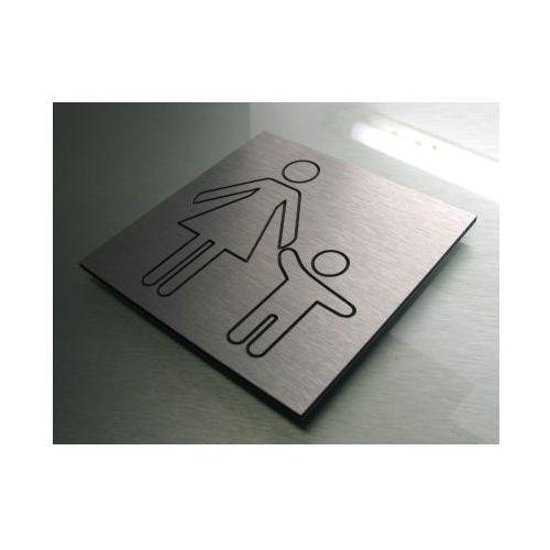 Piktogram Symbol Znak TOALETA DLA MATKI Z DZIECKIEM