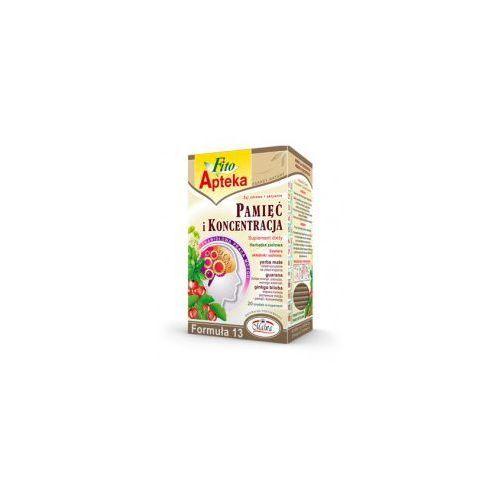 F13 pamięć i koncentracja herbata 20*2g marki Malwa