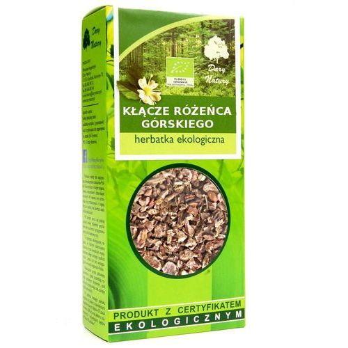 Herbatka z różeńca górskiego bio 50 g - dary natury marki Dary natury - test
