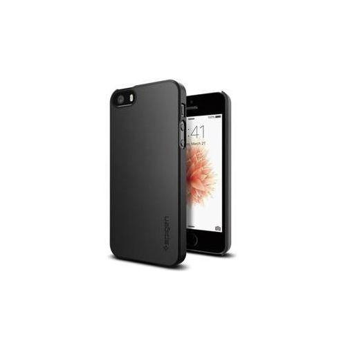Obudowa dla telefonów komórkowych Spigen Thin Fit Apple iPhone SE/5s/5 (041CS20168) Czarny, kolor czarny