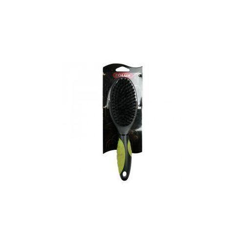 - 470721 - szczotka plastikowa z nylonowym włosiem, miękka, duża marki Zolux