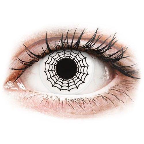 Soczewki kolorowe białe SPIDER Crazy Lens 2 szt., 226