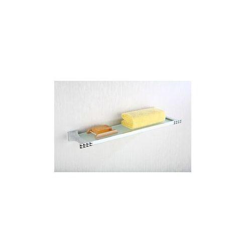Art platino panama półka szklana chrom pan-86080