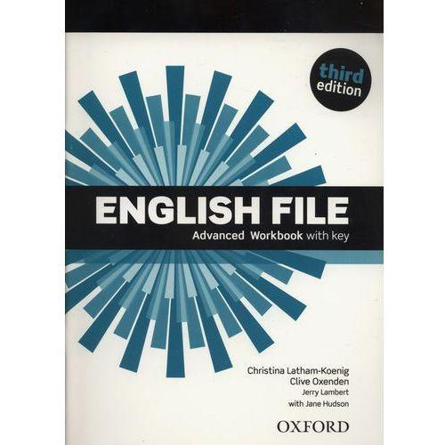 English File: Advanced: Workbook with Key, oprawa miękka