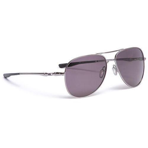 Okulary przeciwsłoneczne OAKLEY - Elmont (Large) OO4119-1460 Gunmetal/Prizm Grey, kolor szary