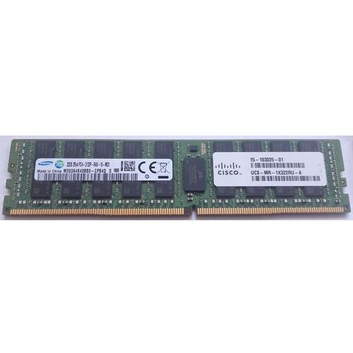Cisco Pamięć ram 1x 32gb  ecc registered ddr4 2rx4 2400mhz pc4-19200 rdimm | ucs-mr-1x322rv-a