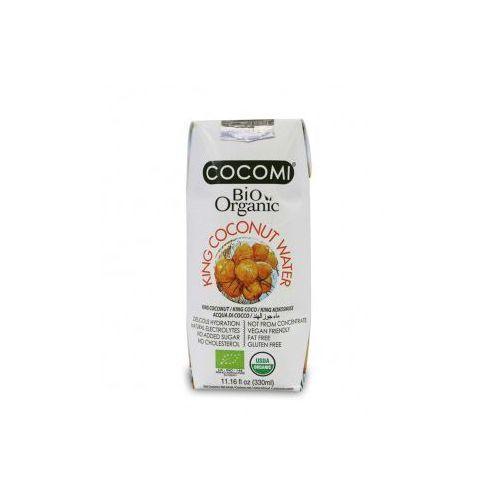 Cocomi (wody kokosowe, oleje kokosowe, śmietanki) Woda kokosowa king bio 330 ml - cocomi