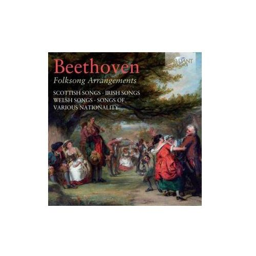Brilliant classics Beethoven - beethoven: folk song arrangements (5028421949253)