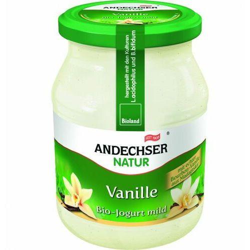 Jogurt waniliowy 3,7% bio 500 g natur marki Andechser