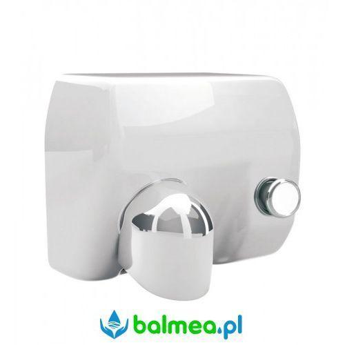 Suszarka do rąk Merida Saniflow Plus E88AP-PB z przyciskiem, metalowa, biała, E88AP-PB
