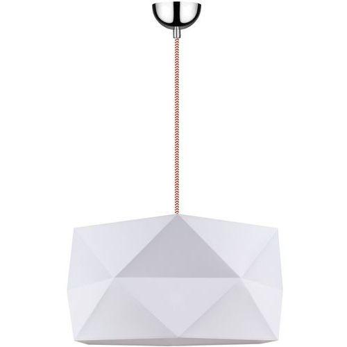 Lampa wisząca zwis oprawa Spot Light Finja 1x60W E27 biały/czerwono-biały 1941528 (5901602356678)