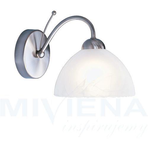 Searchlight Milanese kinkiet 1 stal szkło (5013874309105)
