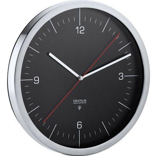 Zegar ścienny sterowany radiowo Crono 24 cm czarny, 65895