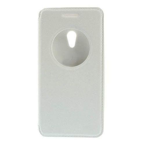 Flip Leather Biały | Etui z klapką dla Asus Zenfone 5 - Biały