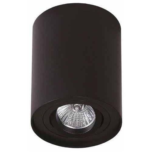 Maxlight Spot lampa sufitowa basic round c0068 natynkowa oprawa metalowa tuba czarna (1000000356960)