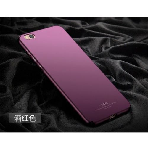 Msvii ultracienkie etui xiaomi mi5s purpurowe