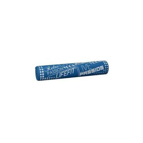 Podkładka gimnastyczna LIFEFIT SLIMFIT PLUS, 173x61x0,6cm Niebieska