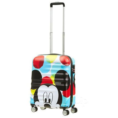 Walizka kabinowa American Tourister Wavebreaker Disney - mickey close up
