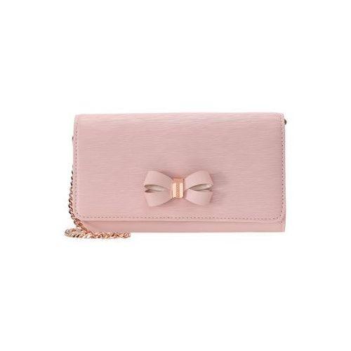 Ted Baker MELISIA BOW MATINEE WITH CHAIN Kopertówka light pink