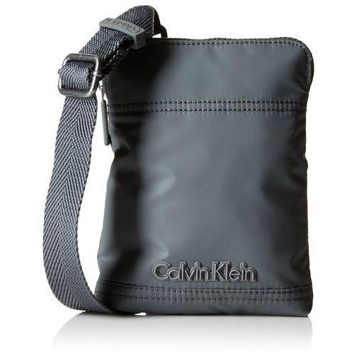 Calvin klein jeans Torebka na ramię dla mężczyzn, kolor: szary, rozmiar: 19x15x3 cm