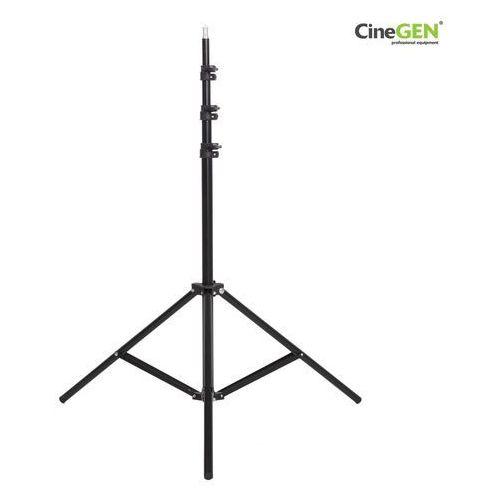 Statyw oświetleniowy cgls-801, wysokość 200cm, głowica 16mm marki Cinegen
