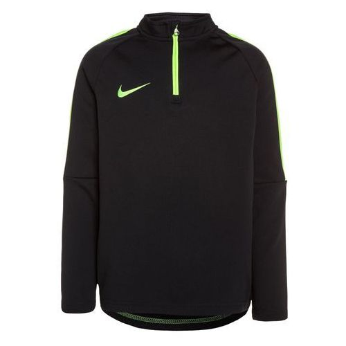 Nike Performance DRY DRILL ACADEMY Bluzka z długim rękawem black/electric green