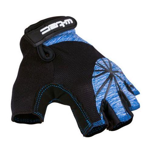 Damskie rękawice rowerowe W-TEC Klarity AMC-1039-17, Czarno-niebieski, XL