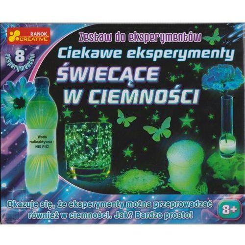 Ranok-creative Zestaw do eksperymentów - ciekawe eksperymenty świecące w ciemności 12160296 - (4823076123970)