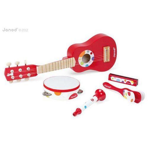 Janod  zestaw instrumentów duży confetti