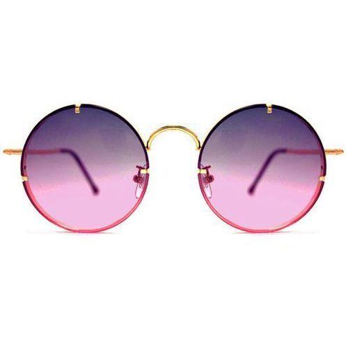 Okulary słoneczne poolside gold/blue pink ocean grad marki Spitfire