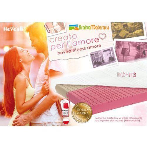 Materac dualsleep  fitnes amore 200x140 marki Hevea