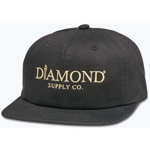 Diamond Czapka z daszkiem - mayfair unconstructed sb h17 black (blk) rozmiar: os