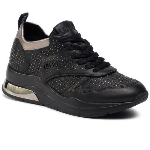 Sneakersy - karlie 14 b69025 p0102 black 22222, Liu jo, 35-41