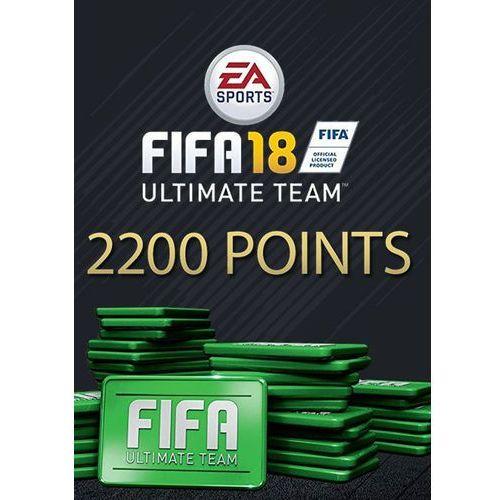 Fifa 18 2200 fut points dlc origin key global pc marki Electronic arts