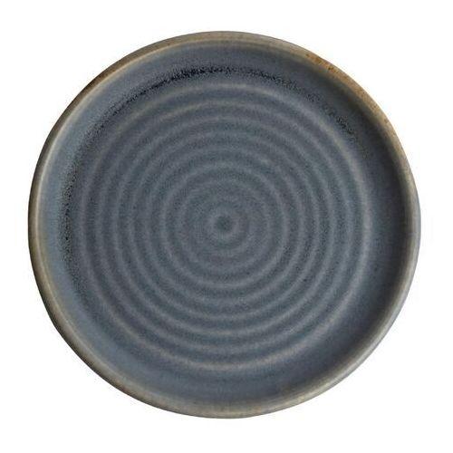 Olympia Okrągły talerz o wąskim brzegu, niebieski granit 180mm canvas (zestaw 6 sztuk)