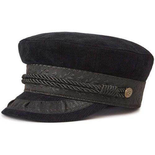 czapka z daszkiem BRIXTON - Albany Cap Black/Black (BKBLK) rozmiar: S, kolor czarny