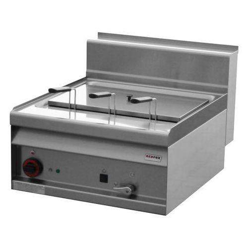 Urządzenie do gotowania makaronu i pierogów elektryczne, nastawne, jednokomorowe 25 l, 6 kw, 600x700x290 mm   , linia 700, cp-6et marki Redfox