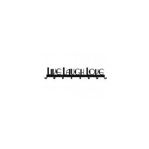 Wieszak Live Laugh Love 01, KNS-LLL01