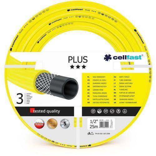 Cellfast Cell-fast wąż ogrodowy plus 1/2 25m /raty z odroczoną spłatą i darmowa dostawa do paczkomatów dla zamówień od 99 zł! (5901828850615)