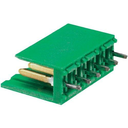 Listwa Pin męska TE Connectivity AMPMODU 280609-2 , zawartość: 1 szt.