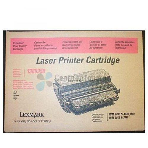 Lexmark oryginalny toner 1380950, black, 12800s, lexmark 4039, 3916