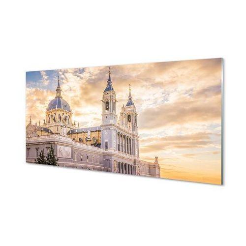 Obrazy akrylowe hiszpania katedra zachód słońca marki Tulup.pl