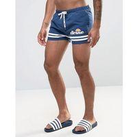 Ellesse Printed Stripe Swim Shorts In Navy - Navy, szorty
