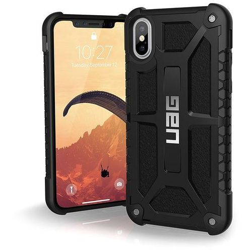 Etui URBAN ARMOR GEAR Monarch do iPhone X Czarny + DARMOWY TRANSPORT!, kolor czarny