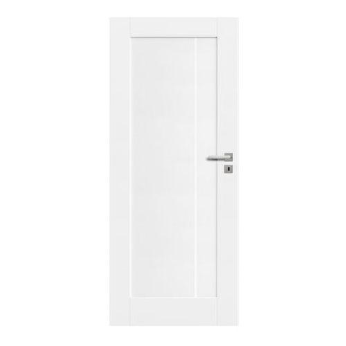 Drzwi pełne Fado 80 lewe kredowo-białe