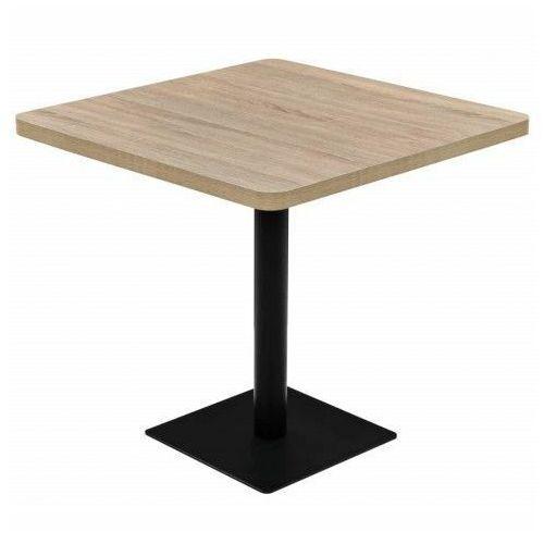 Jasnobrązowy stolik bistro - Carol 4X, vidaxl_245614